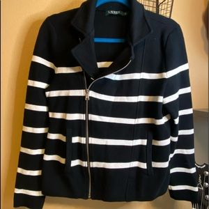 Ralph Lauren Moto Sweater Coat